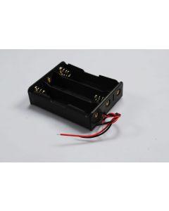 DIY Battery Box för 3 * 18650 Batteri