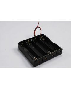 DIY Battery Box för 4 * 18650 Batteri
