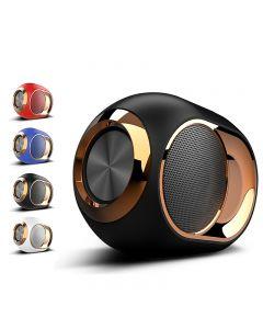 Golden Egg Bluetooth-högtalare, bärbar avancerad högtalare, 108 dB stereo Bluetooth-högtalare Mini Bluetooth-spelare, Super stark subwooferhögtalare