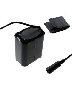 5521 DC-gränssnitt 8.4v 6x18650 13200mAh Bike-strålkastare Batteri för LED-cykelljus
