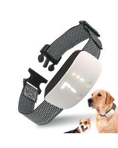 Ny Touch 7 Nivå Skärm Hund Bark Shock Training Collar Vattentät Uppladdningsbar Statisk chock Anti No Bark Collar Dog Training