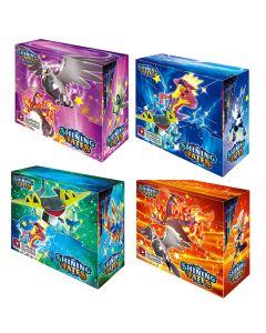 2021 Ny 4x360pcs Pokemon TCG: Shining Fates Booster Box Trading Card Game Collection Leksaker