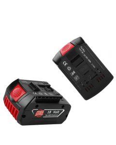 2020 18V Uppladdningsbart batteri för BOSCH 18V Batteri Backup Bärbar ersättning för BOSCH BAT609