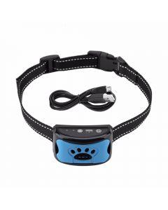Pet Dog Anti Barking Device USB Electric Ultrasonic Dogs Training Collar Dog Stopp Barking Vibration Anti Bark Collar Dropship
