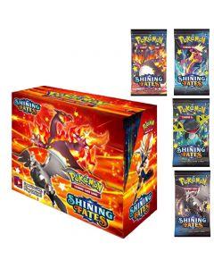 2021 Ny 360pcs Pokemon TCG: Shining Fates Booster Box Trading Card Game Collection Leksaker