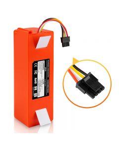 14.4V Li-ion Batteri Dammsugare Tillbehör till Xiaomi MI Robot Robotik Rengöringsmedel Roborock S50 S51 S55 T4 T6