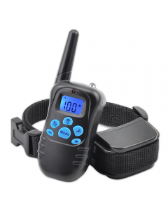 Ny 998drB 300m Remote Electric Dog Collar Shock Vibration Rechargeable Rainproof Dog Training Collar med LCD-skärm