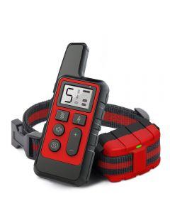 Ny hundträning Collar Uppladdningsbar Vattentät Remote Electric Dog Shock Krage med Vibration Pip Training Dog Collar Electronic