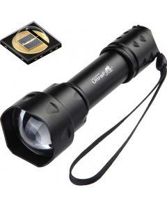 Ultrafire T20 10W ficklampa 850nm 940nm Nattvision Zoombar LED-ficklampa
