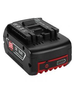 2020 NYHET 18V Uppladdningsbart batteri för BOSCH 18V Batteri Backup Bärbar ersättning för BOSCH BAT609 Indikatorlampa