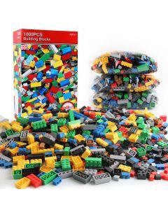 1000 bitar DIY Byggstenar Bulkuppsättningar Creative Classic Technic Creator Bricks Assembly Brinquedos Kids Pedagogiska leksaker
