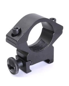 Ficklampa Hållare Optisk Bracket 25.4MM Hålmonterad Torch Mount Hållare Passa för 20 mm vävskenor