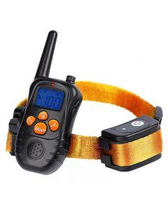 Ny 300m Remote Electronic Dog Training Collar med LCD-skärmdisplay Uppladdningsbar 100 nivåer PET Electronic Dog Collar