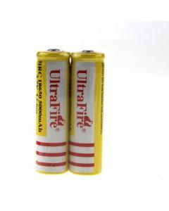 Ultrafire BRC 18650 5000MAH Li-ion uppladdningsbart batteri (1 par)