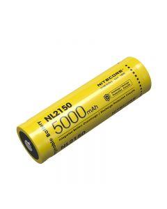 Nitecore NL2150 5000MAH 3.6V 18WH 21700 Li-ion uppladdningsbart batteri
