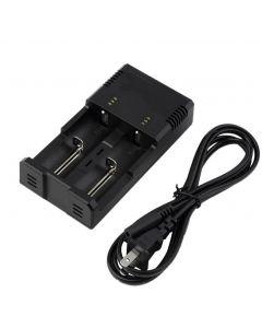Nitecore i2 IntelliCharge Universal Batteriladdare Intelligent Laddning PowerIQ Design för 18650 14500 AA AAA