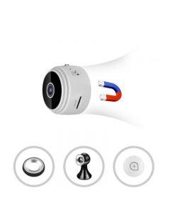 A9 DV WiFi Minikamera 1080p HD Motion Detection / IR Night Vision 150 graders vidvinkel Voice Video Webcam
