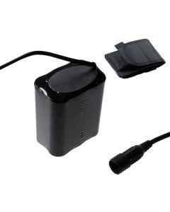 Skruva fast gränssnitt 8.4v 6x18650 13200mAh Bike-strålkastare Batteri för LED-cykelljus