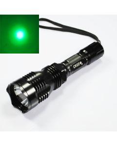 Uniquefire HS-802 Cree Green Light Long Range LED ficklampa