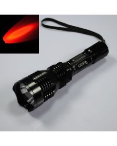 Uniquefire HS-802 Cree Red Light Long Range LED ficklampa