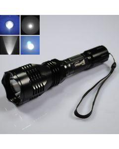 Uniquefire HS-802 Cree Blue Light Long Range LED ficklampa